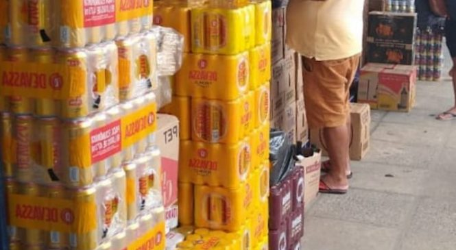 Vigilância Sanitária realiza reordenamento no Mercado do Tabuleiro