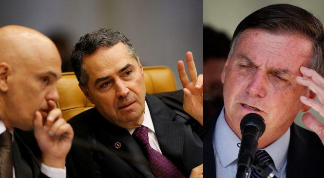 Bolsonaro vai invadir Senado com ministros para pedir impeachment de Barroso e Moraes