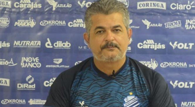 CSA em crise na série B demite o técnico Ney Franco