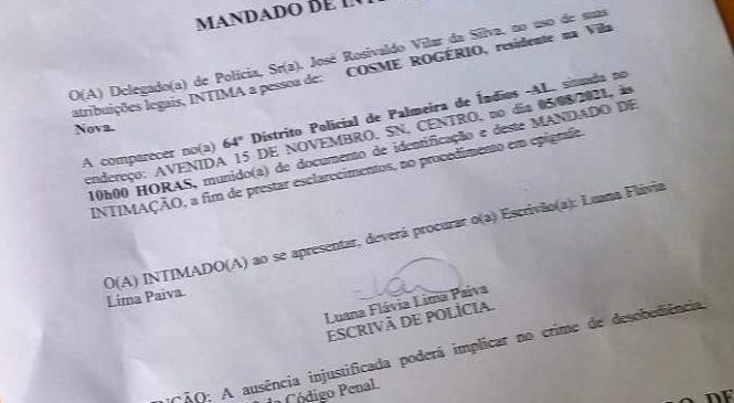 Filósofo é intimado a depor após criticar bolsonarista que atirou para o alto em manifestação