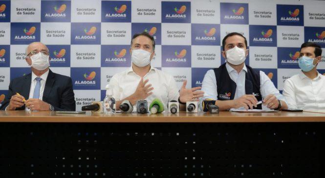 Sem alterações: Renan Filho renova decreto emergencial por mais 15 dias