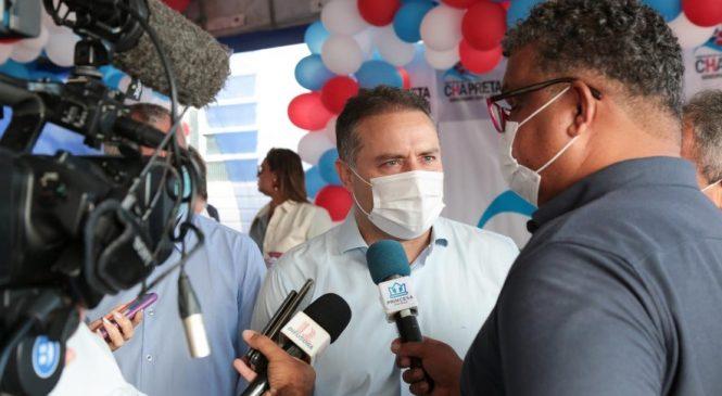 """Renan Filho anuncia o """"Alagoas de Ponta a Ponta"""" ao autoria obra que liga Chã Preta à Correntes (PE)"""