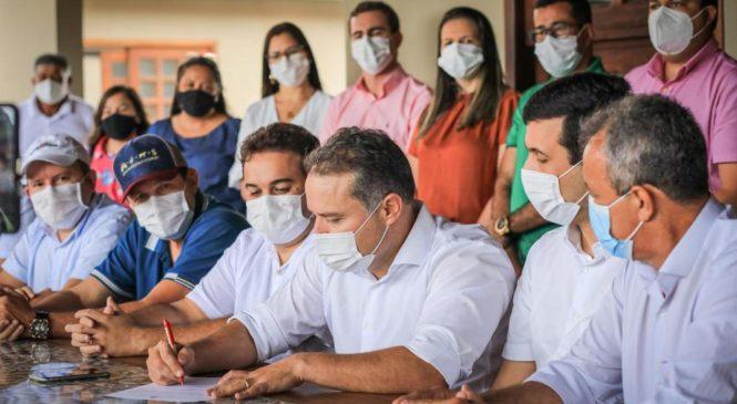 Renan Filho anuncia investimentos de R$ 20 milhões para Cacimbinhas