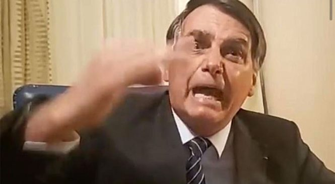 Desespero de Bolsonaro não é com voto eletrônico, mas perder a mamata da família