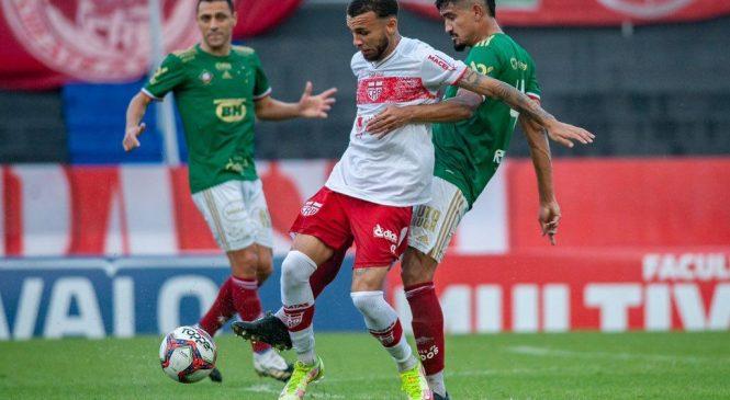 Cruzeiro entra em campo de camisa verde para não perder pro CRB