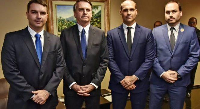 Que sujeira Bolsonaro quer esconder para impor 100 anos de sigilo para seus atos e dos filhos?