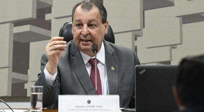 Presidente da CPI da Covid diz que Bolsonaro não enxerga um palmo à frente do nariz