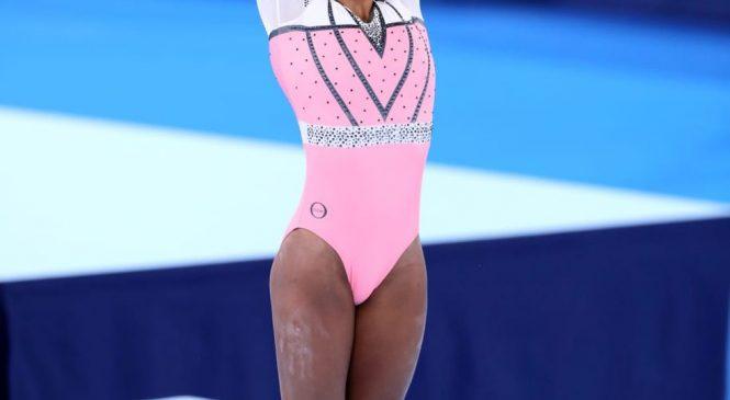 Fantástica Rebeca Andrade  conquista o ouro histórico na disputa do salto nas Olimpíadas