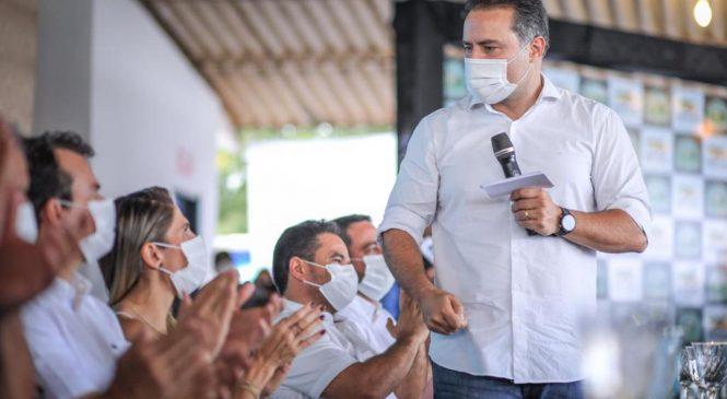 Governador anuncia construção de rodovia que vai ligar Batalha e Olivença