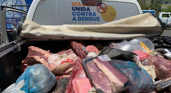 Vigilância sanitária apreende mais de 500Kg de carne estragada em Maceió