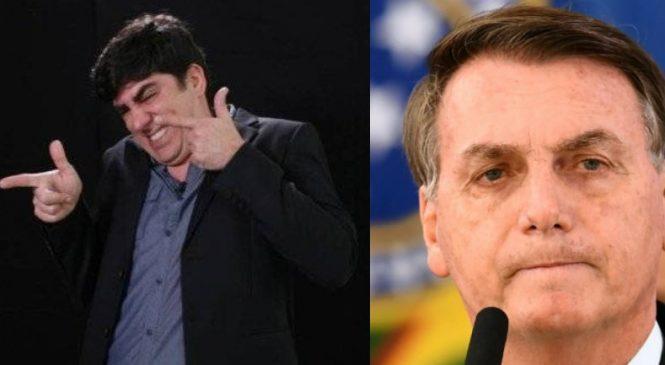 Acusado de imitar o presidente, Adnet responde Zé Trovão e manda caminhoneiros dançarem Macarena