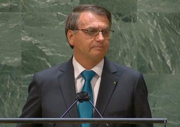 """Bolsonaro mente na ONU sobre fim da corrupção e """"auxílio de 800 dólares"""""""