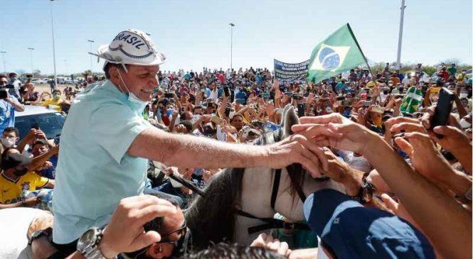 Alagoas é um dos destinos de Bolsonaro em viagens que marcam mil dias de governo
