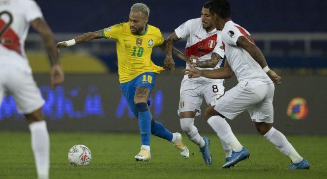 Após frustração com Argentina, Brasil joga hoje contra o Peru