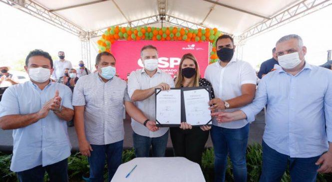 Inaugurando CISP em Piranhas, Renan Filho diz que não se faz turismo sem segurança
