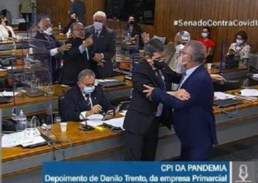 Corrupto, ladrão, picareta, vagabundo: As ofensas trocadas por Renan e Mello ao vivo na CPI