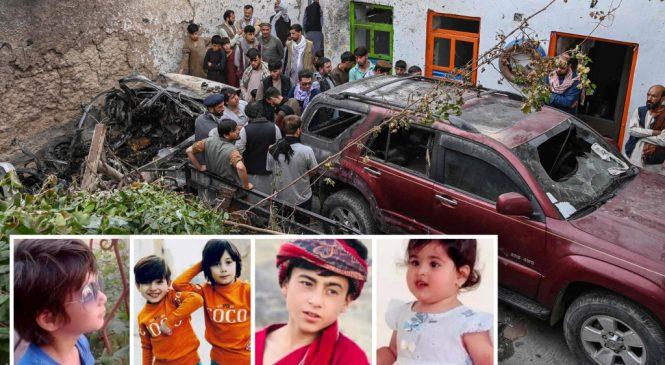 EUA confirmam que ataque de drone em Cabul matou 10 civis, sendo 7 crianças