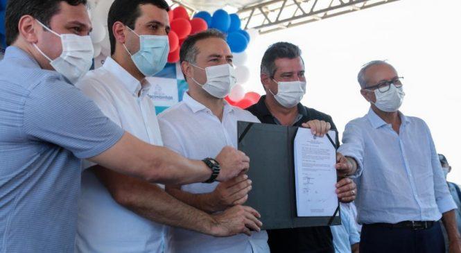 Renan Filho autoriza construção de 50 casas em Cacimbinhas
