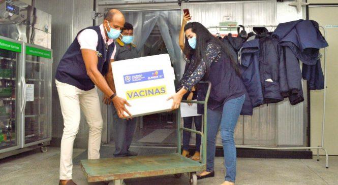 Alagoas recebe 79.520 mil doses de vacinas contra a Covid-19