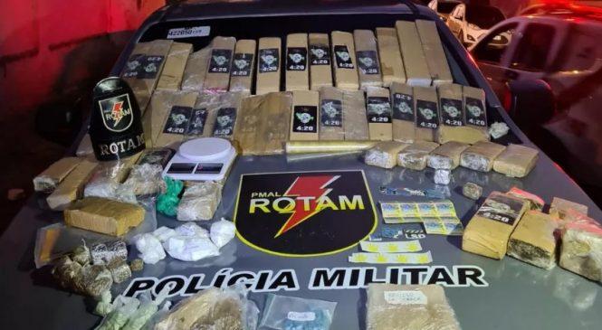 PM apreende quase 40 quilos de droga no Cidade Universitária