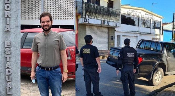 PF pede e Justiça afasta Aldo Lira, prefeito de Estrela de Alagoas, e o ex Arlindo Garrote