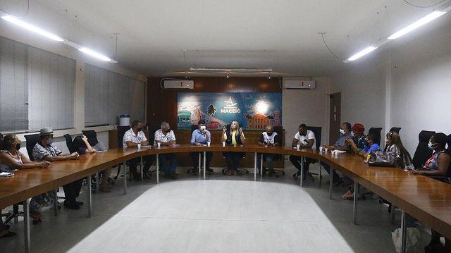 FMAC discute com Lideranças culturais as inscrições nos editais da Prefeitura de Maceió