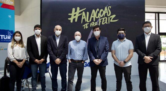 Governo do Estado garante novos voos para Alagoas