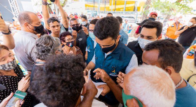 JHC se reúne com moradores de Bebedouro para tratar de isolamento socioeconômico