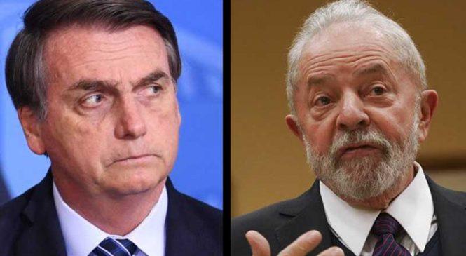 Datafolha mantém liderança de Lula contra Bolsonaro no 2º turno por 56% a 31%