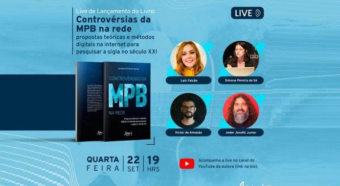 Controvérsias da MPB: Pesquisadora alagoana lança livro nas redes sociais