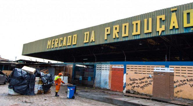 Mercado da Produção tem horário de funcionamento alterado até o dia 10