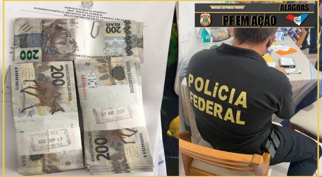 PF cumpre mandados em Maceió, Arapiraca e mais três cidades após fraude de R$ 20 mi