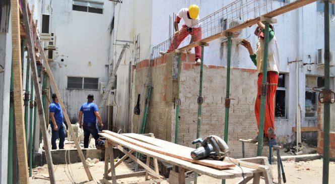 Reformas no HGE são iniciadas com a construção de um novo Centro de Imagem