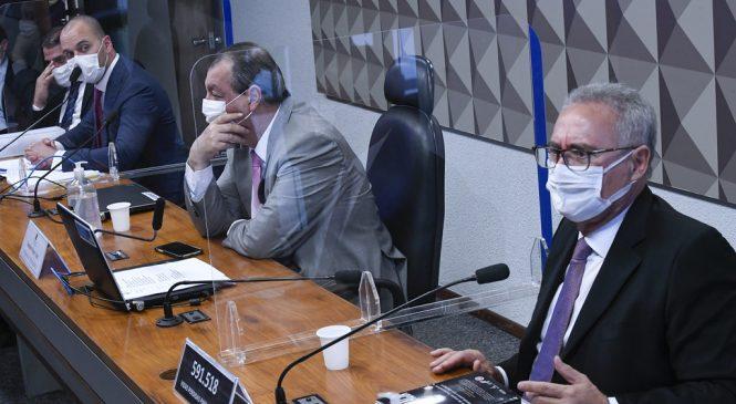 """Renan Calheiros diz que Prevent Senior é """"plano macabro da morte"""""""