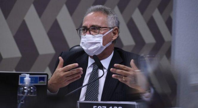 Renan diz que Bolsonaro deve ser responsabilizado pelo caso Covaxin
