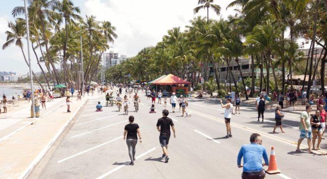"""Atividades da """"Rua Fechada"""" na Ponta Verde serão estendidas aos sábados"""