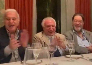 Vídeo: Quem é quem no jantar de Temer em que riem de Bolsonaro com imitação