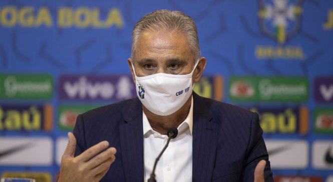 Tite convoca seleção brasileira para os três próximos jogos das Eliminatórias da Copa