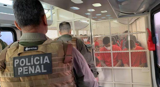 Seris transfere 200 presos de Maceió ligados a facções criminosas para o Agreste