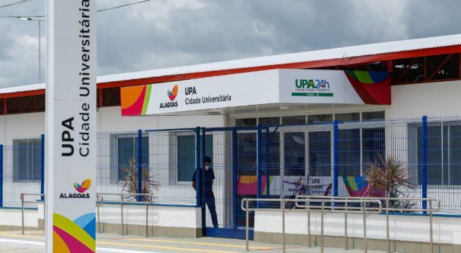 Renan Filho inaugura UPA Cidade Universitária que abre as portas nesta terça
