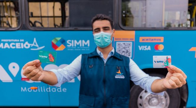 JHC lança novo sistema digital de passagem de ônibus em Maceió