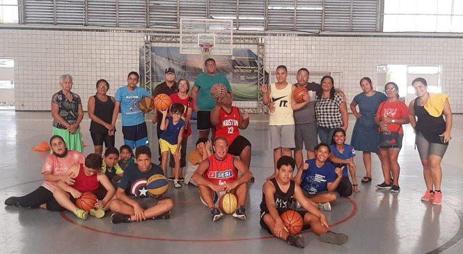 Time de basquete do Sesi promove a inclusão de jovens com espectro autista