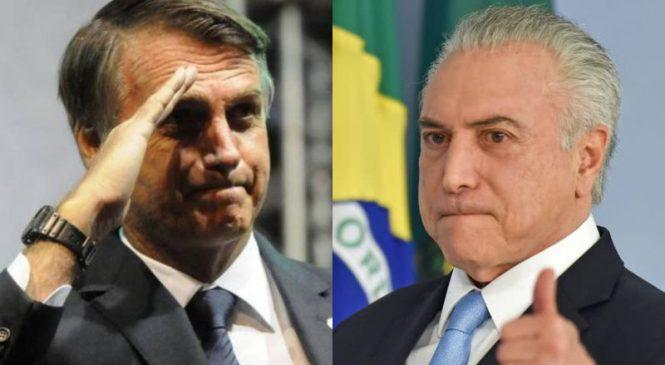 Bolsonaro no clima perfeito para manter a grana, cargos e impunidade
