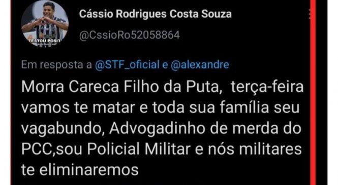 Ex-militar que ameaçou matar ministro do STF e família está preso