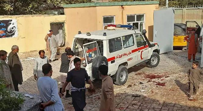 Atentado terrorista mata mais de 100 em mesquita no Afeganistão