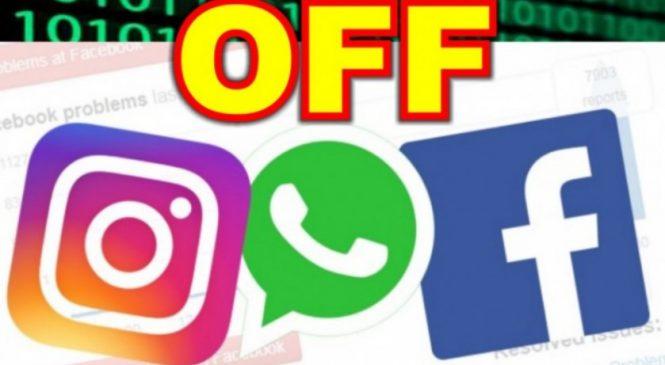 WhatsApp, Facebook e Instagram caem no mundo todo