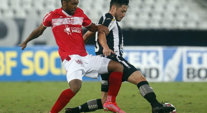 CRB dificulta a caminhada do acesso com derrota para o Botafogo