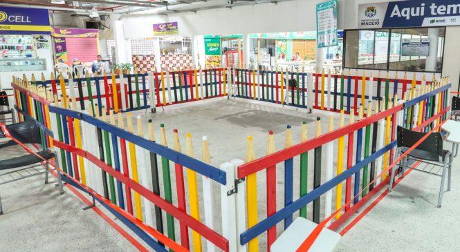 Shopping Popular, no Centro de Maceió, ganhará parque de recreação infantil