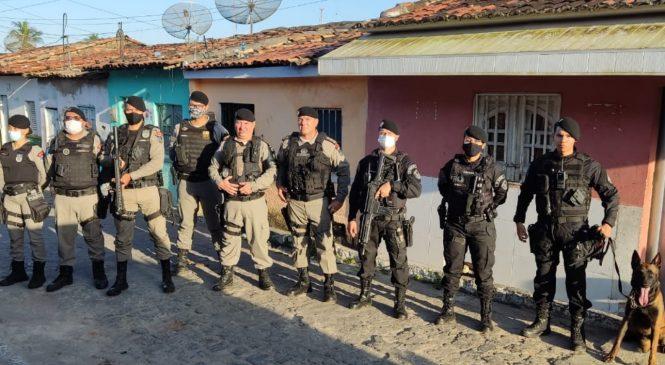Operação desarticula grupos criminosos que atuam no tráfico de drogas e homicídios em Arapiraca