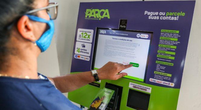 Totem de pagamentos já está em funcionamento no Shopping Popular